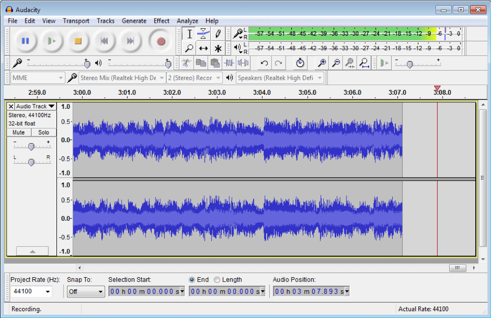 Audacity is a great free tool for audio editing