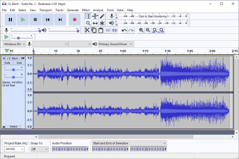 Audacity is considered the best audio editor free software out there