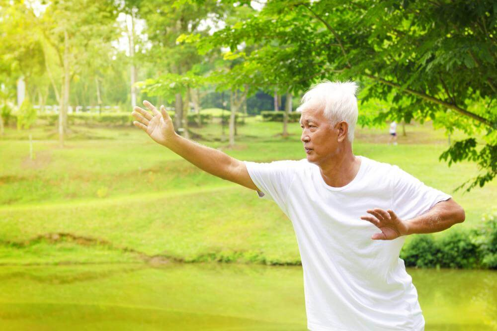 Qi Gong exercises are meant to relax muscles