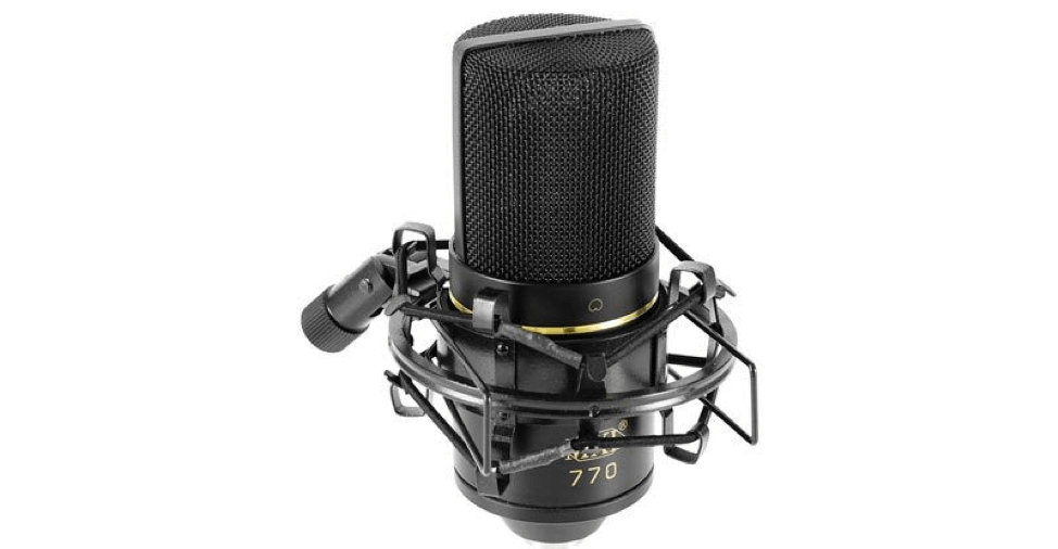 The MXL mic is one that looks great from the get-go